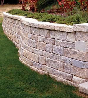retaining walls by reliable landscaping - Landscape Wall Design